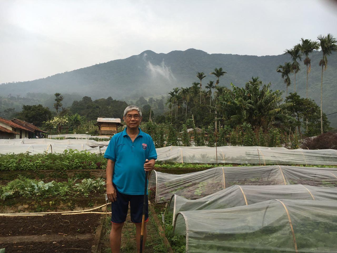Budi S Pranoto pemilik BSP Farm