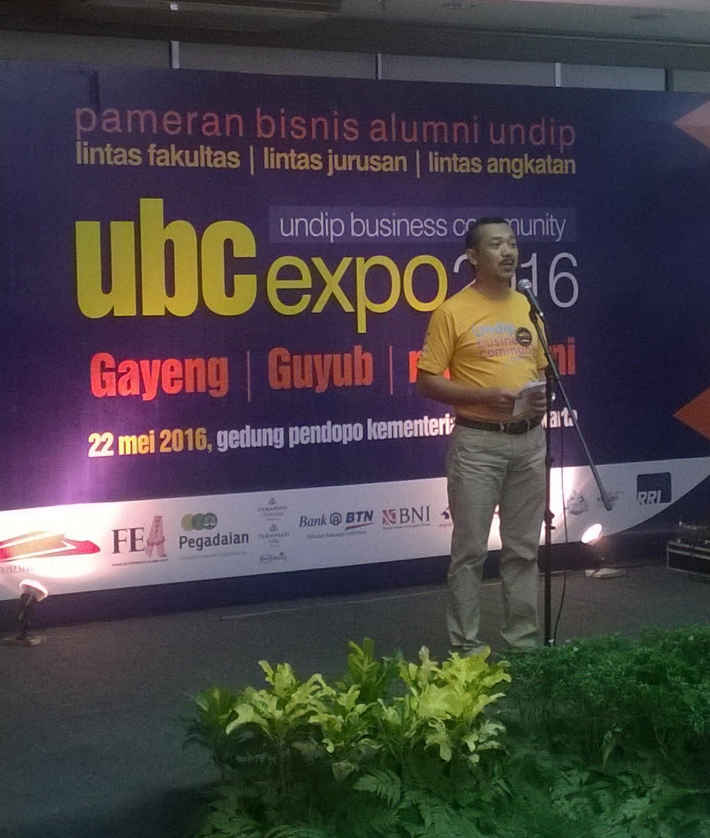 UBC Expo 2016 Berdayakan Entrepreneur UNDIP Untuk Indonesia Maju