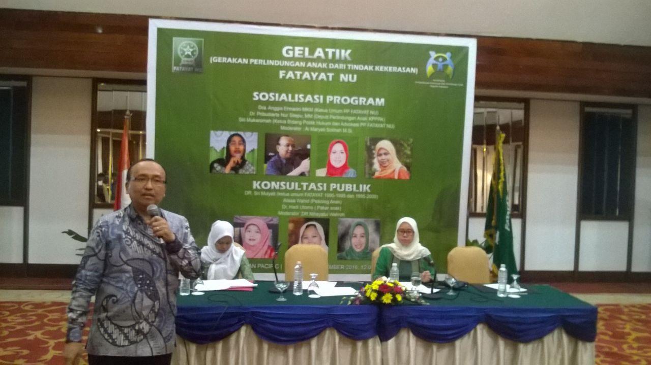 PP Fatayat NU Fokus Terhadap Komitmen Perlindungan Anak dan Perempuan