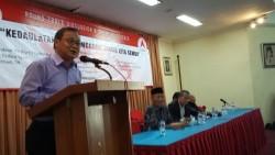 Dr. Firdaus Syam, MA, dosen pasca sarjana ilmu politik Universitas Nasional (UNAS)