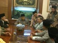 Aceng Ahmad Nasir bersama Ketua Umum PBNU