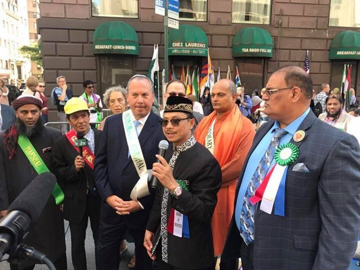 'United American Muslim Day Parade' Didedikasikan untuk Rohingnya