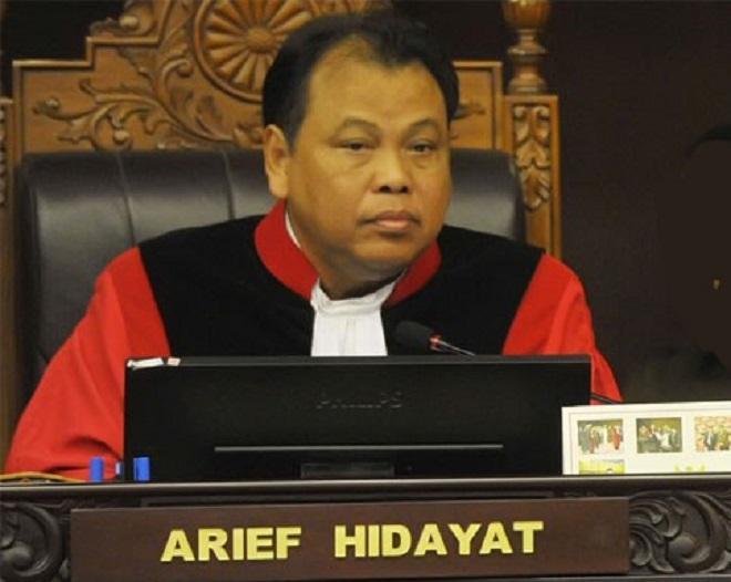 'Pembela Kesatuan Tanah Air Indonesia Bersatu' Apresiasi Kepemimpinan Prof. Arief Hidayat sebagai Ketua MK