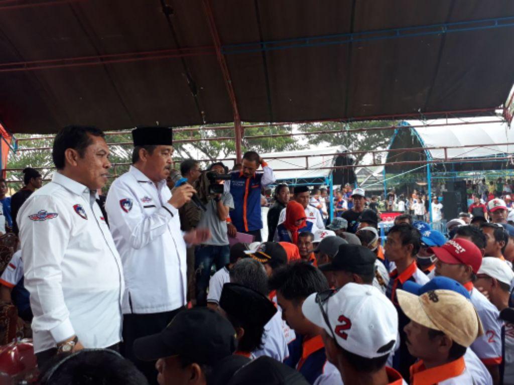 Cabup Doamu Didukung 300 Tim Relawan, Ini Sejarah Luar Biasa
