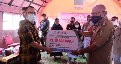 Arwan Aras Bersama Kemensos RI Dorong Percepatan Penyaluran Santunan Korban Meninggal Dunia Akibat Gempa Sulbar