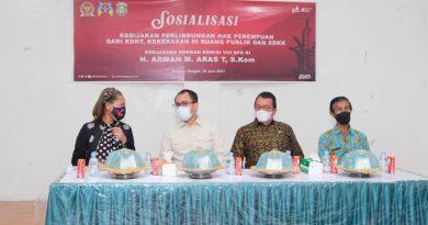 Arwan Aras Ajak Perempuan Terlibat Aktif Dalam Kegiatan Pengembangan UMKM