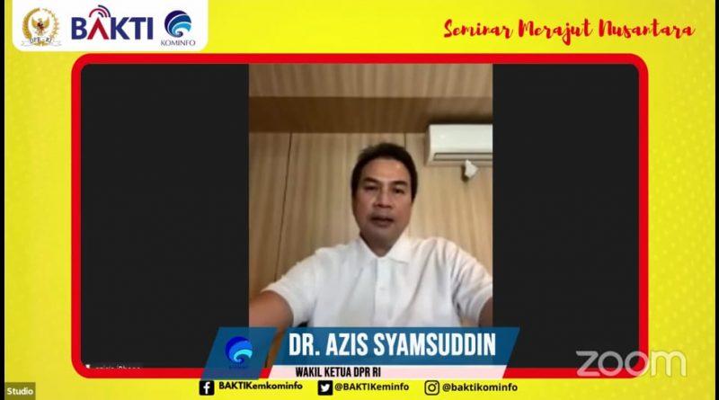 Azis Syamsuddin Ajak Milenial Tingkatkan Wawasan Politik Melalui Diskusi Digital di Masa Pandemi