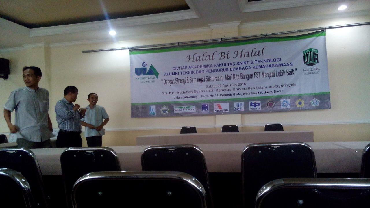 Hari Ini IKA Teknik Universitas Islam As-Syafi'iyah Gelar Halal bi Halal
