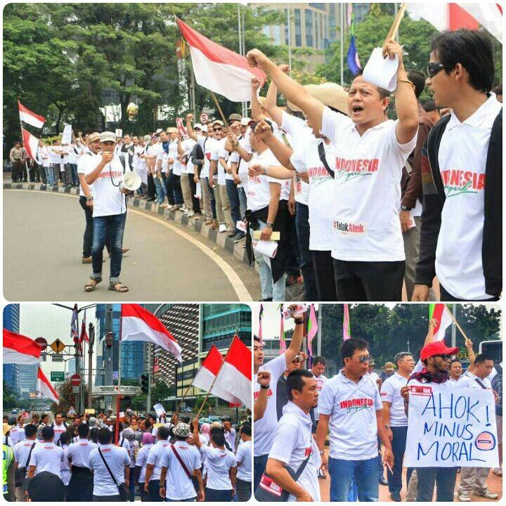 Indonesia Bergerak Serukan Tolak Ahok, Ini 6 Alasannya
