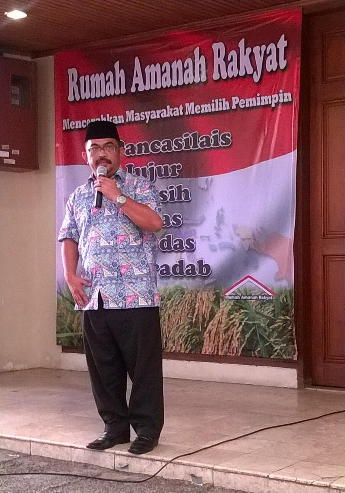 Rahmad: Saya Sudah SMS Pak Wiranto Agar Hanura Mencabut Dukungannya Kepada Ahok