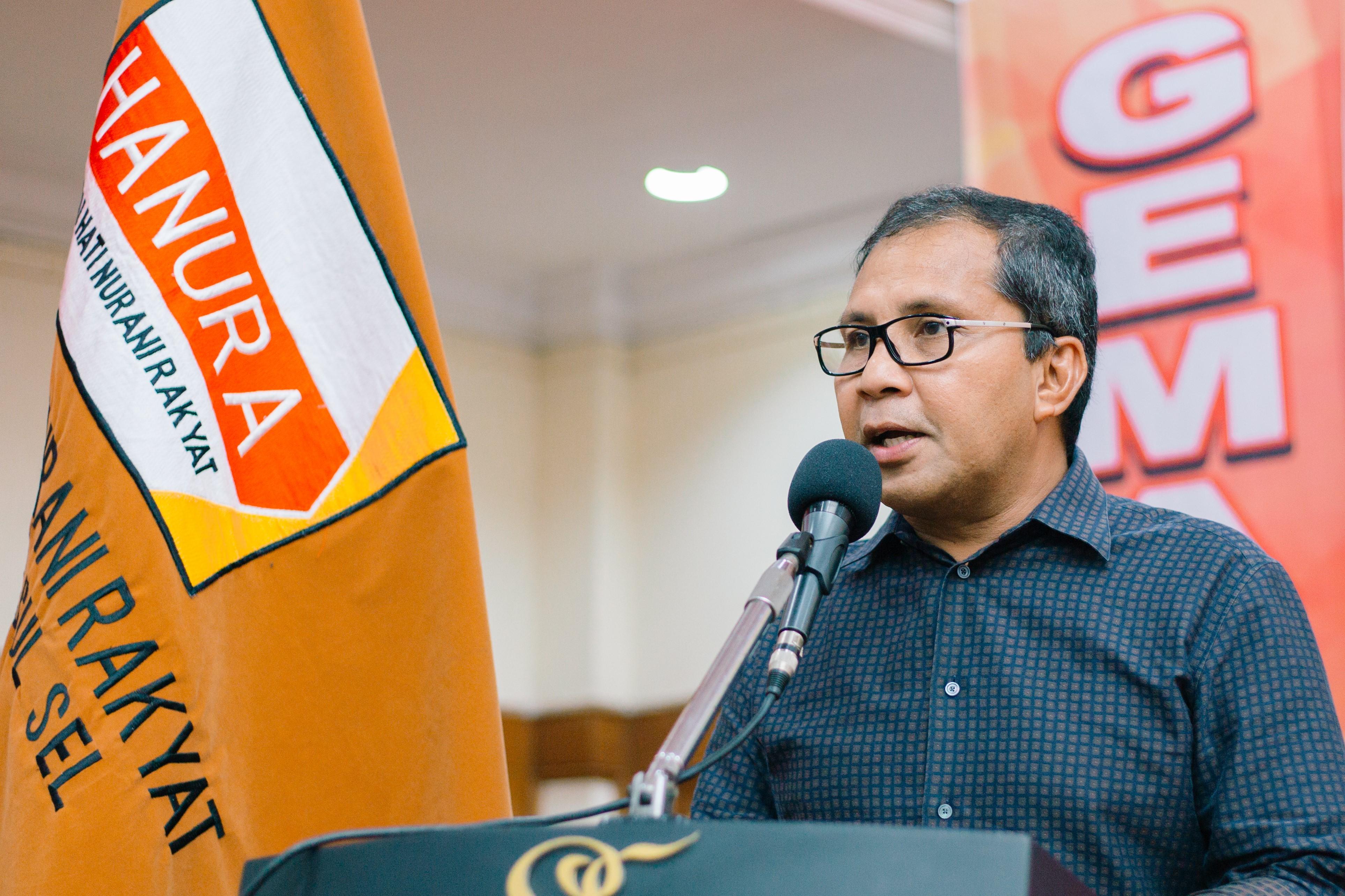 Walikota Makassar: GEMA Hanura Sulsel Menambah 'Battery' Bagi Partai Hanura