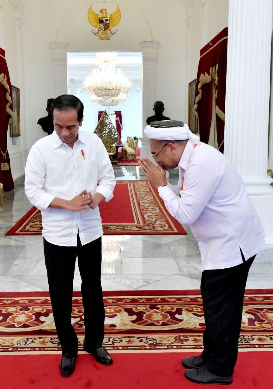 Ngabalin Hanya Sebagai Pegawai Kontrak PPPK, Deputi IV KSP, di Istana Negara