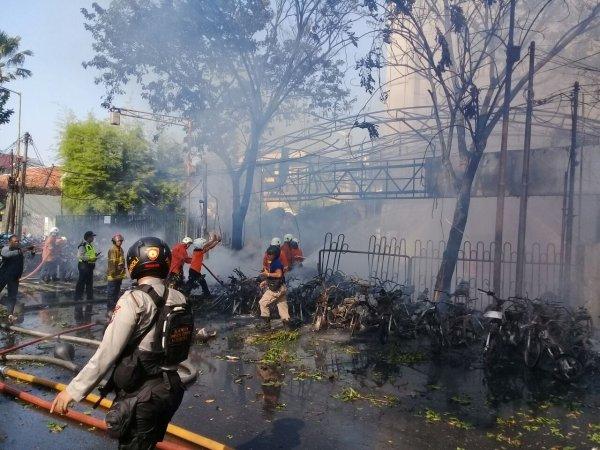Pemuda Demokrat Jatim Mengutuk Keras Aksi Teror Peledakan Bom Gereja Di Surabaya