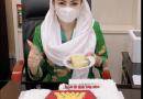 Novita Wijayanti Rayakan HUT Ke 13 Partai Gerindra