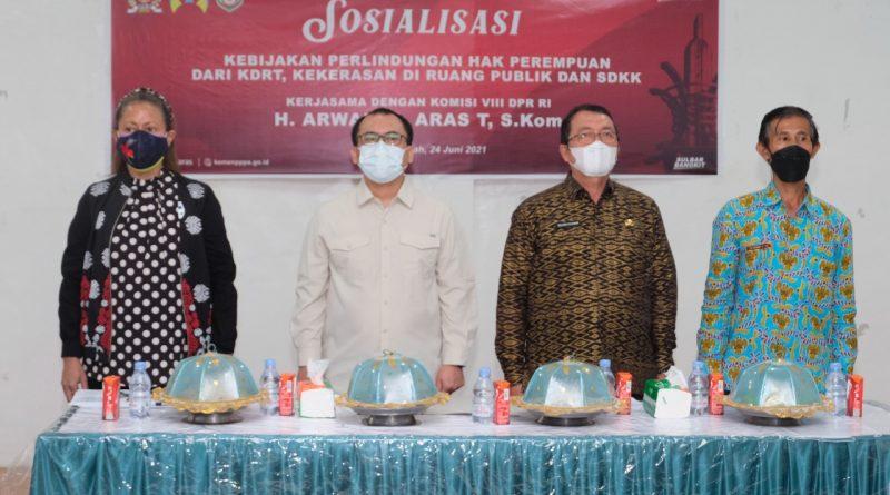 Kemen PPPA Dan Komisi VIII DPR RI Gelar Sosialisasi Perlindungan Hak Perempuan Dan KDRT Di Sulbar